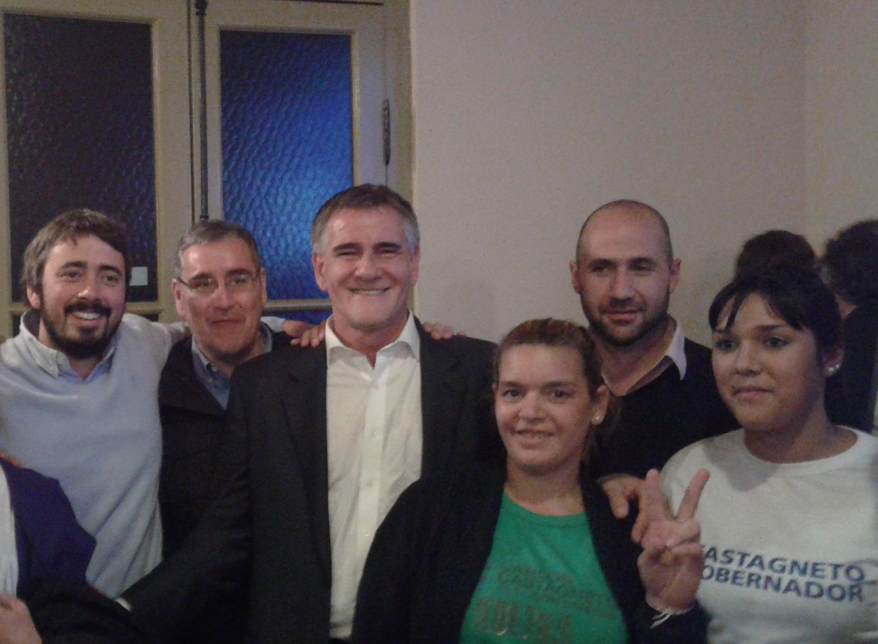 Carlos Castagneto estuvo en San Fernando junto a referentes