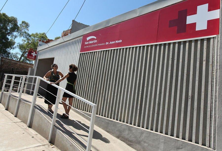 Se inaugur un centro de salud en villa lanzone oeste que pasa zona norte - Centro de salud barrio del pilar ...
