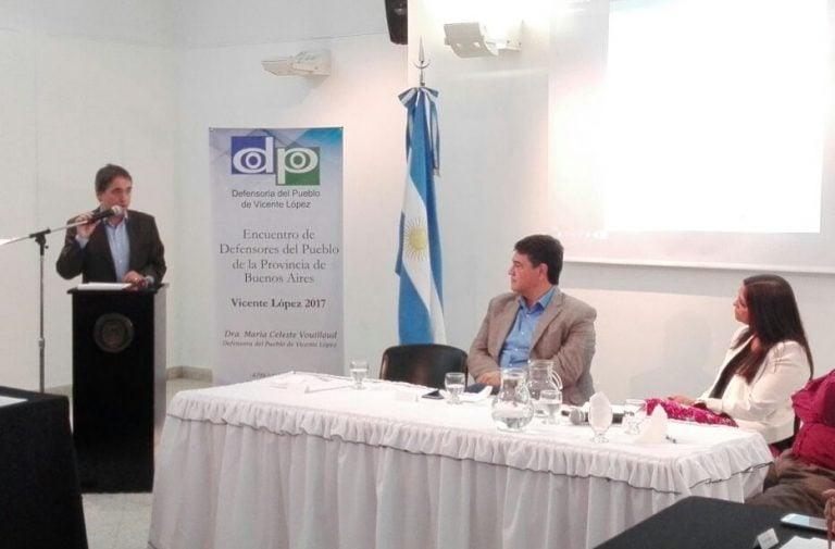 Se realizó un encuentro de Defensores del Pueblo de la Provincia en Vicente López