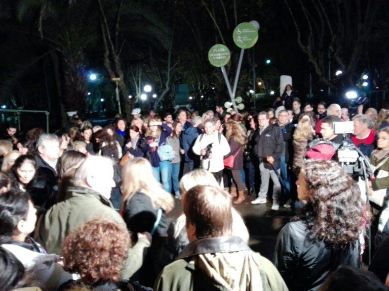 La Plaza de Olivos reunió a vecinos en un encuentro por la inseguridad