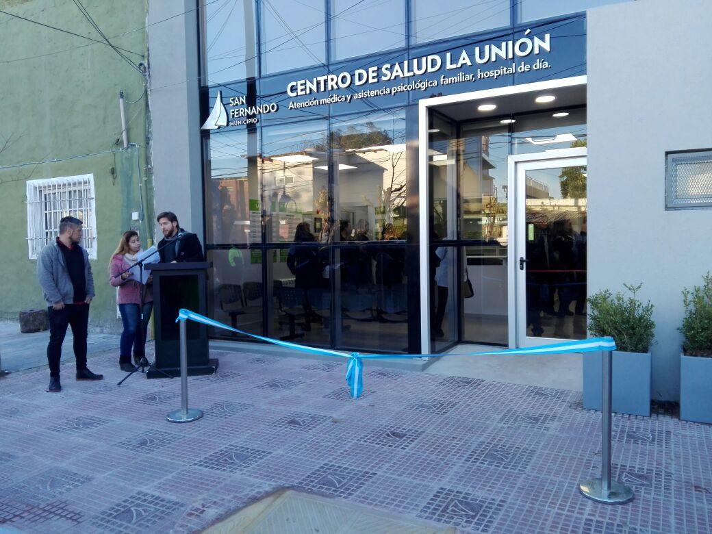 En san fernando se inaugur el nuevo centro de salud la uni n que pasa zona norte - Centro de salud barrio del pilar ...