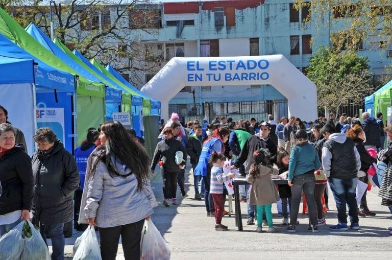 """Este jueves y viernes """"El Estado en tu barrio"""" estará en Pilar"""