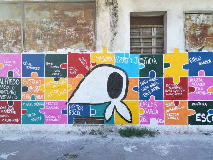Murales Sobre El 24 De Marzo