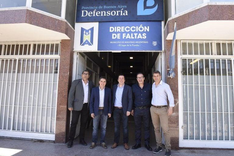 La Defensoría del Pueblo abrió una delegación en Malvinas Argentinas