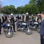 posse-presentacion-nuevas-motos-patrullaje-san-isidro