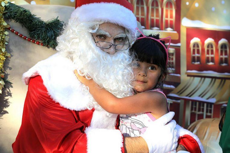Papá Noel estará en el centro comercial de San Isidro para sacarse fotos con las familias