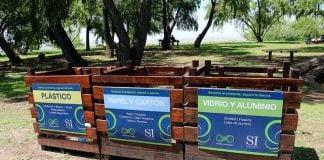 cestos-madera-separacion-basura-rio-costa-san-isidro