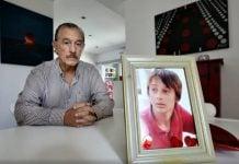 storani y la foto de su hijo manuel