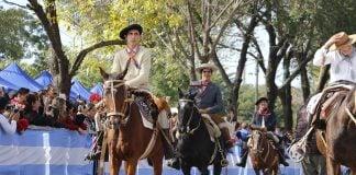 Fiestas Patronales Zelaya Pilar Caballos Procesión