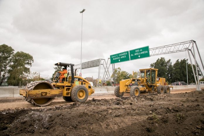 Obras-tercer-carril-acceso-tigre