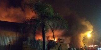 Incendio Galpon Desarrollo Tigre