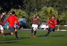 Platense Independiente Amistoso
