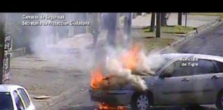 Incendio Auto Talar