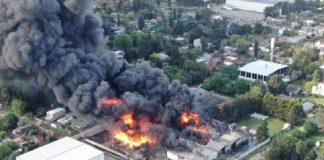 Incendio Fabrica Benavidez