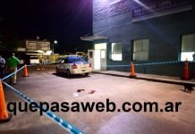 Policia Acuchillado San Isidro 1