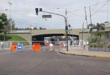 Avellaneda Acceso Corte Transito Obra Tercer Carril