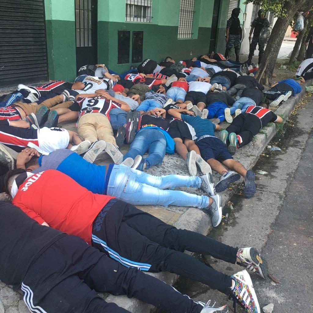Detenidos Chacarita