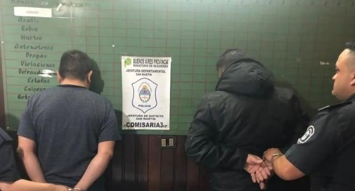 Detienen Hombres Desvalijar Casa San Martin