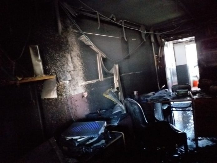 Incendio Escuela Bancalari Tigre