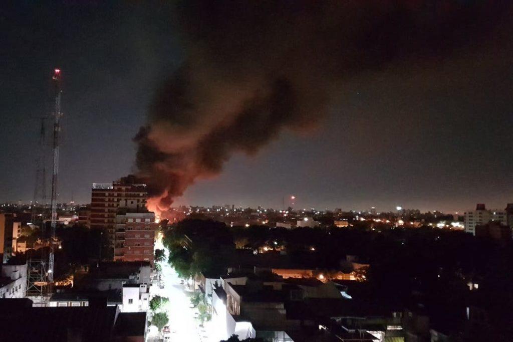 Incendio Fabrica San Martin 2