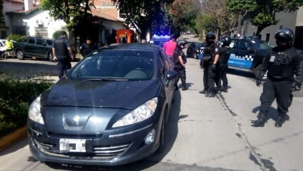 Larones Policias Truchos Vicente Lopez