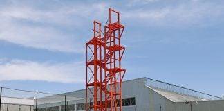 torre entrenamiento bomberos SF