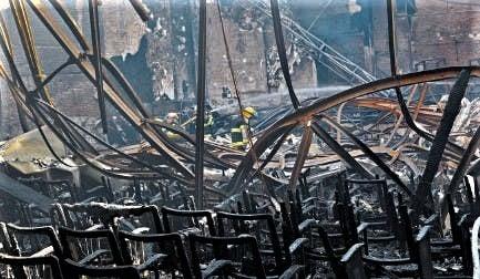 Incendio Bristol