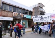 Marcha Femicidios Pilar