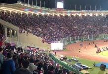 Hinchada de Tigre final Cordoba vs Boca