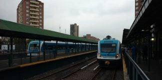 Tren Mitre Lluvia