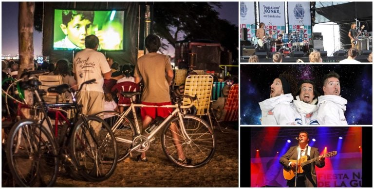 Este fin de semana, arrancan las actividades y shows gratuitos de verano en San Isidro