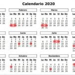 Calendario 2020 3