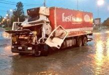 Choque Camion Panamericana
