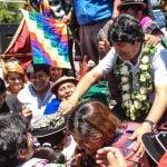 Evo Morales Pilar 1
