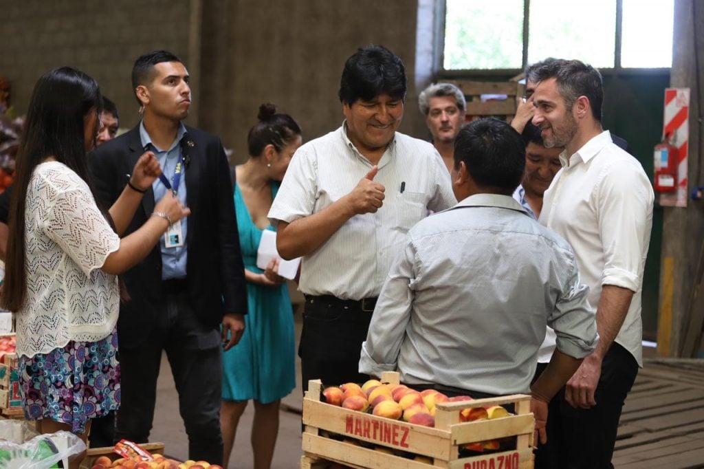 Evo Morales Pilar 3