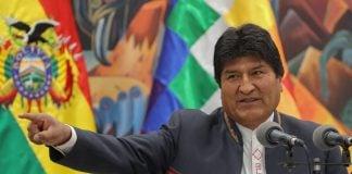 Evo Morales Pilar