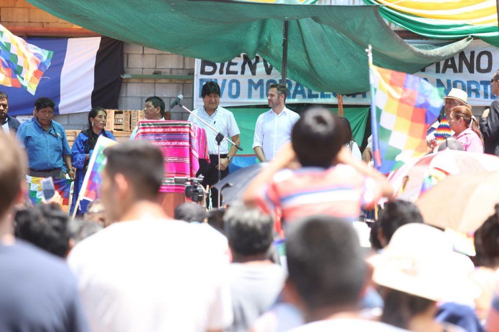 Evo Morales Pilar 4