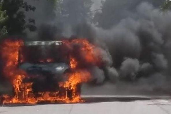 Incendio Camion San Fernando 2 Opt