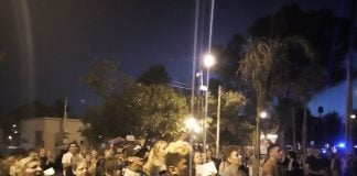 Manifestacion Comisaria Virreyes