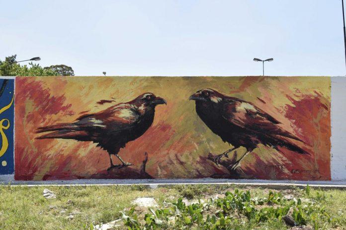 mural tigre carmona