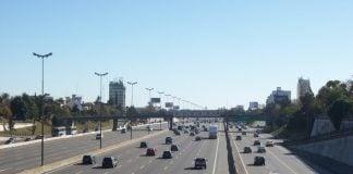 Acceso Norte Y Calle Melo Hacia El Noroeste
