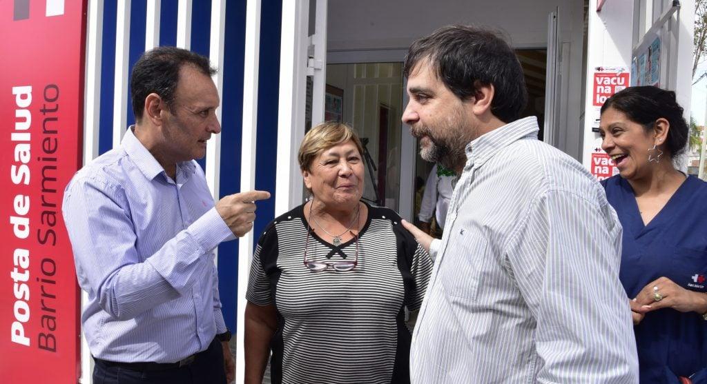 El Intendente Fernando Moreira Participó De La Reapertura Del Centro De Salud De Barrio Sarmiento.