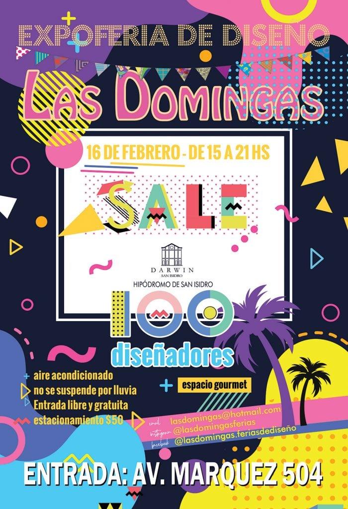 Flyer Las Domingas Febrero 2020 Web