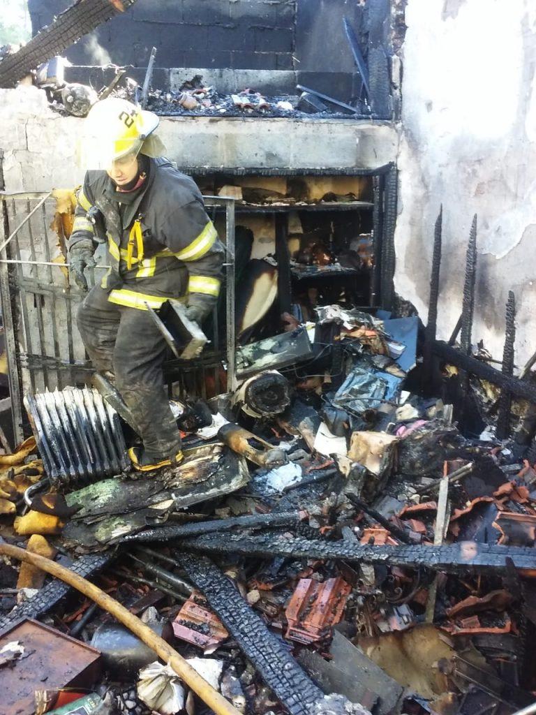 Incendio Villa Adelina 20022020 2