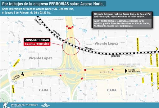 Obra Ferrovias Corte Panamericana