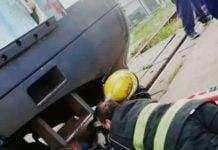 Rescate Arrollada Tren Carupa 09022020