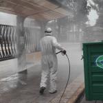 Pilar desinfección