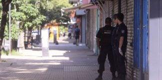 Cuarentena Policia