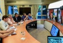 Reunion Presidente Intendentes