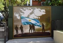 Mural Malvinas